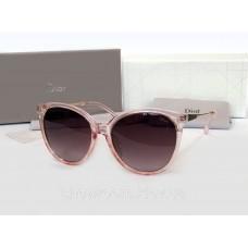 Жіночі брендові сонцезахисні окуляри (378) рожеві