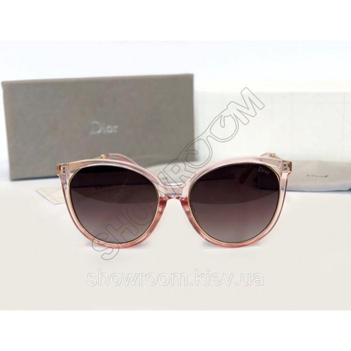 Женские брендовые солнцезащитные очки (378) розовые
