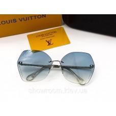 Жіночі сонцезахисні окуляри Louis Vuitton (2015) blue
