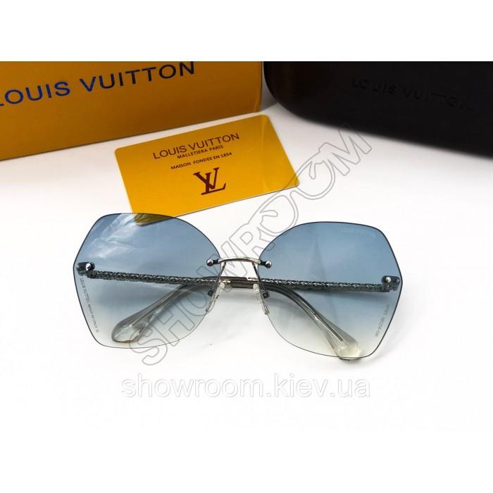Женские солнцезащитные очки Louis Vuitton (2015) blue