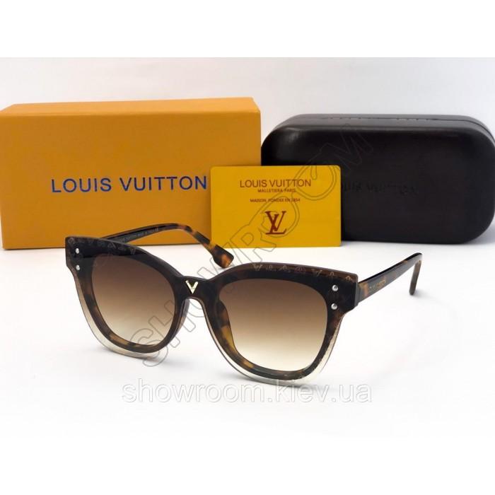 Женские солнцезащитные очки Louis Vuitton (234) brown