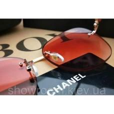 Жіночі безоправні сонцезахисні окуляри (1815) рожеві