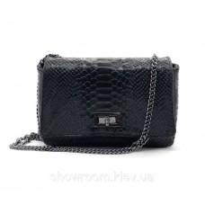Женская сумка кроссбоди Vera Pelle (14432) кожаная черная