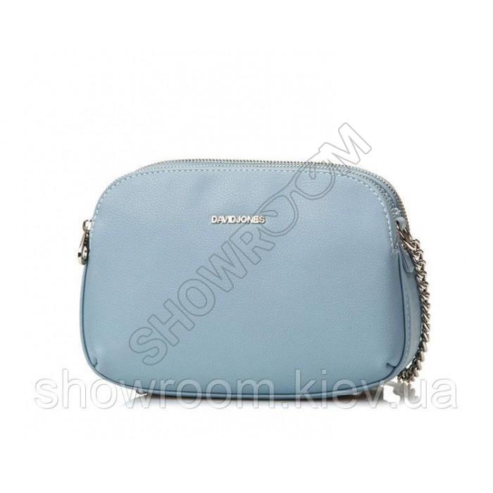 Женская удобная сумка David Jones (918) blue