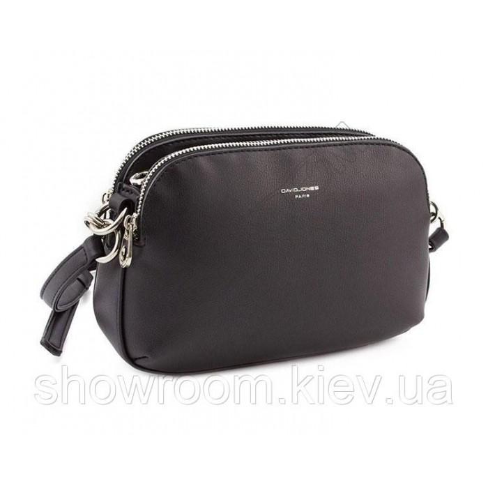 Женская удобная сумка David Jones (918) black