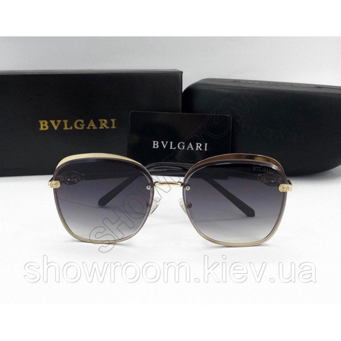 Женские солнцезащитные очки Bvlgari (0212) grey