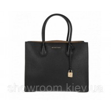 Женская сумка Michael Kors Mercer black medium
