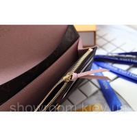 Женский кожаный кошелек Louis Vuitton (60136) powder