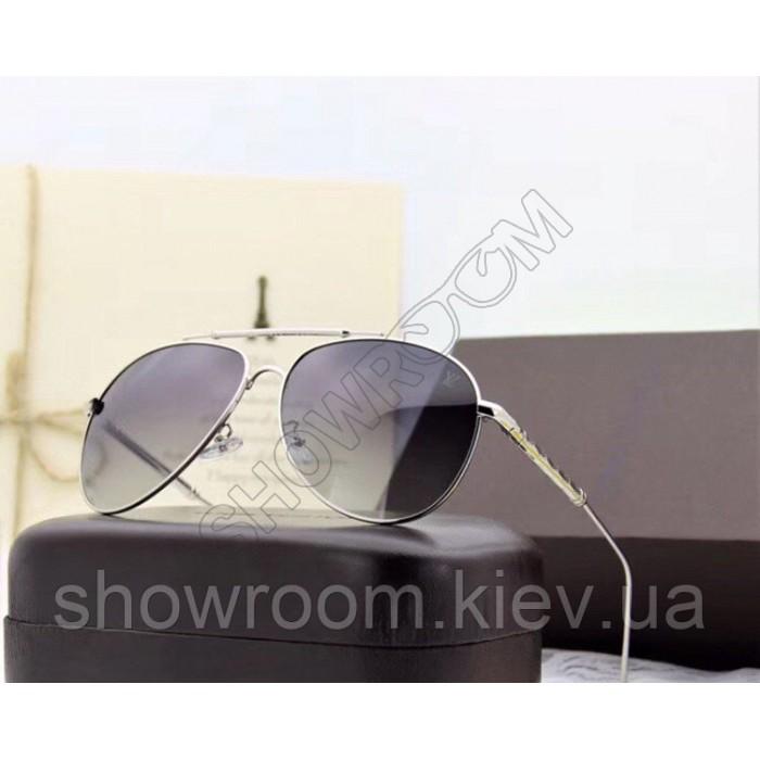 Мужские солнцезащитные очки с поляризацией Louis Vuitton (0906) silver