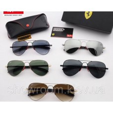 Жіночі сонцезахисні окуляри RAY BAN 8307 (002/62) Lux
