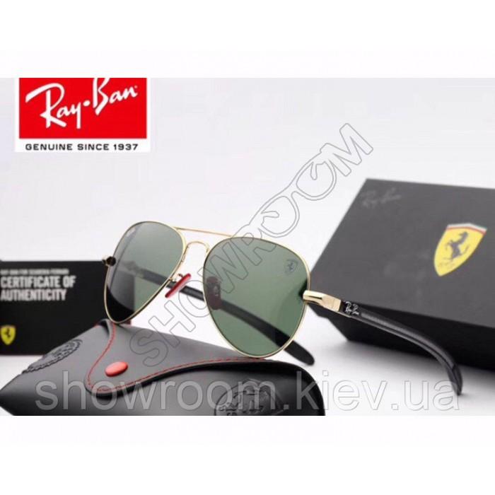 Солнцезащитные мужские очки RAY BAN 8307 (001/51) Lux