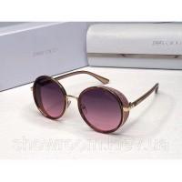 Женские круглые солнцезащитные очки (304) rose
