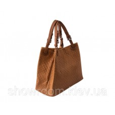 Женская кожаная сумка Laura Biaggi (3035) коричневая