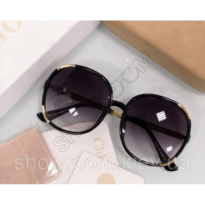 Женские солнцезащитные очки Chloe (712) black