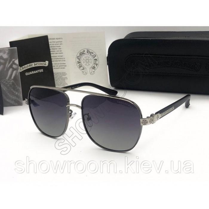 Солнцезащитные очки Chrome Hearts (3016) grey
