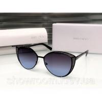 Женские модные солнцезащитные очки Cat Eye (138) black