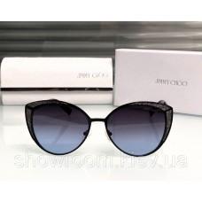 Жіночі модні сонцезахисні окуляри Cat Eye (138) black