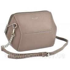 Женская стильная сумка David Jones (709) taupe