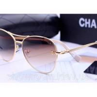 Женские брендовые солнцезащитные очки (17172)