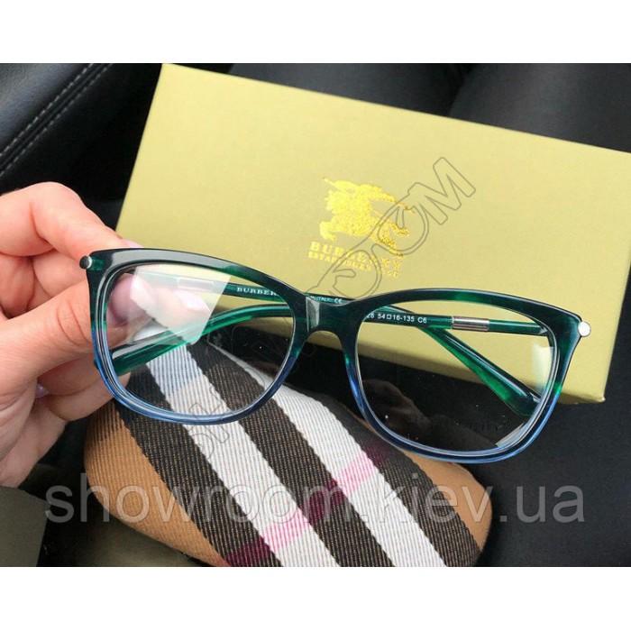 Женская брендовая оправа Burberry (8526) green