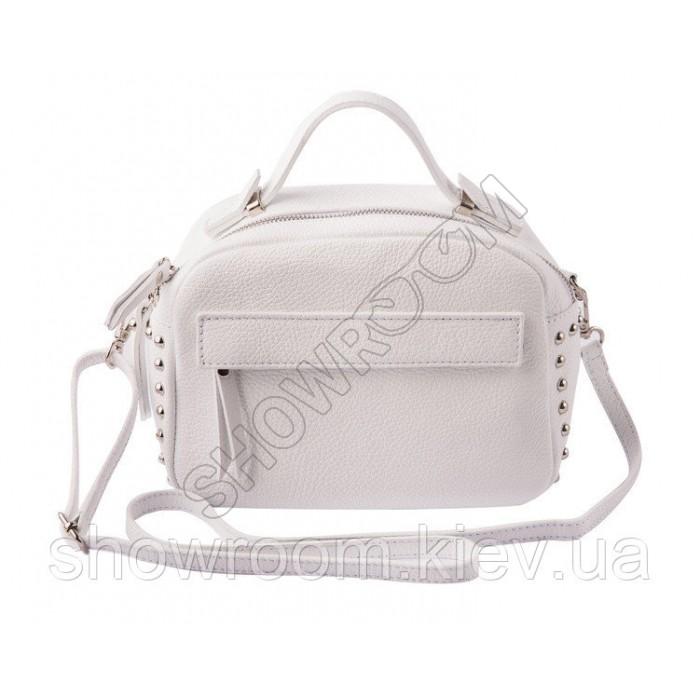 Женская сумка Laura Biaggi (2969) кожаная белая