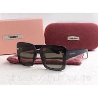 Женские солнцезащитные очки Miu Miu (2099) green
