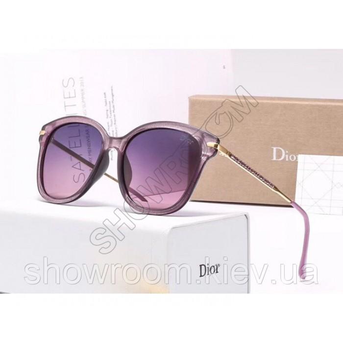 Женские брендовые солнечные очки с поляризацией (29912) purple