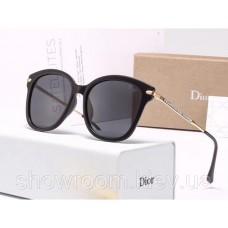 Женские брендовые солнечные очки с поляризацией (29912) black