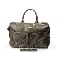Чоловіча дорожня стильна сумка David Jones (355) колір тауп