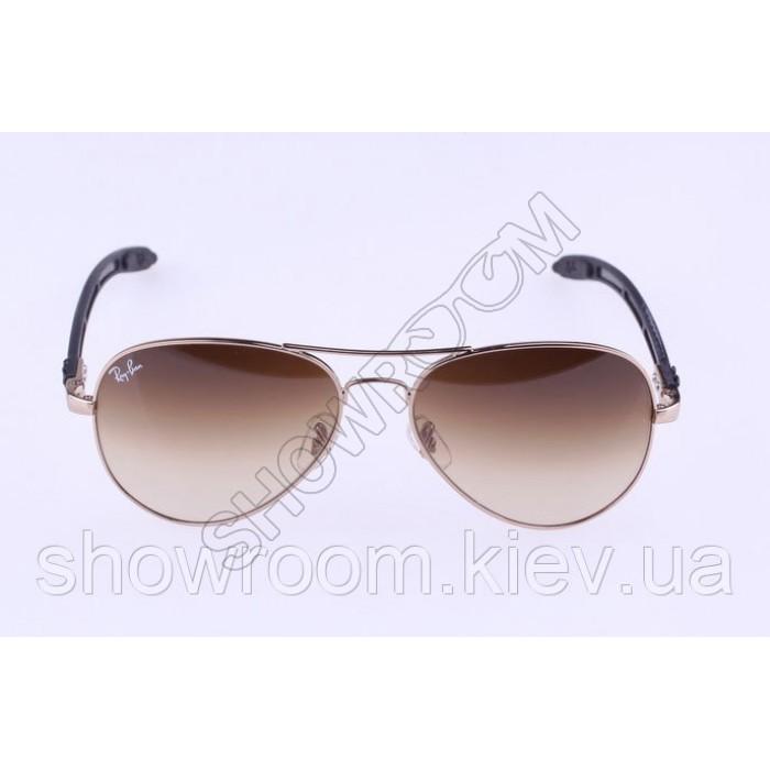 Женские солнцезащитные очки RAY BAN aviator 8307-001/51 carbon LUX