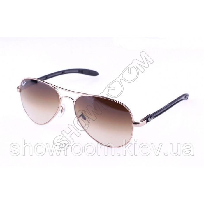 Мужские солнцезащитные очки RAY BAN aviator 8307-001/51 carbon LUX