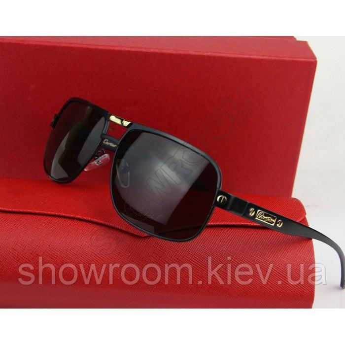Солнцезащитные очки Cartier (0689) black
