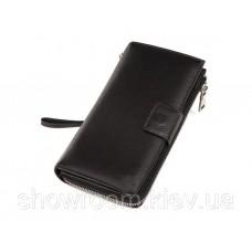 Мужской функциональный кожаный клатч (17) leather black
