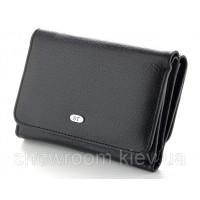 Женский кожаный кошелек (4031) черный