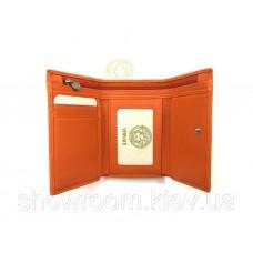 Жіночий компактний гаманець Versace (V-3804) orange