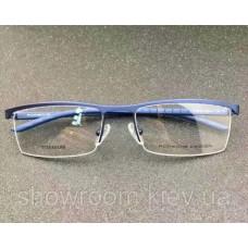 Мужская полуободковая оправа Porsche Design p-8819 blue