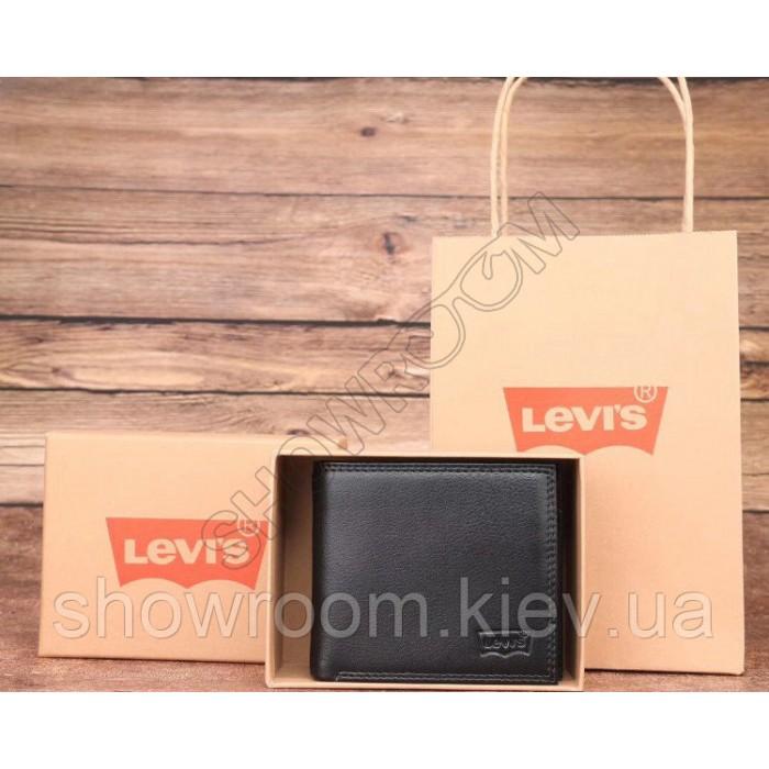 Мужское брендовое портмоне Levis (4452) подарочная упаковка