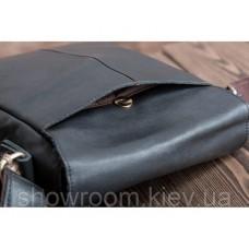 Мужской кожаный мессенджер на плечо Leather Collection (711)