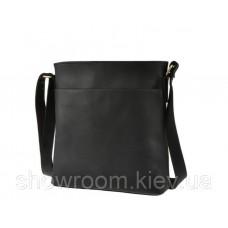 Чоловіча сумка-планшетка Wild Leather (116) шкіряна чорна