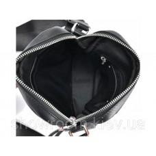 Сумка чоловіча через плече Leather Collection (33) шкіряна чорна