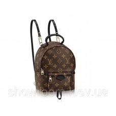 Женский брендовый рюкзак LV (1210) Lux