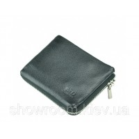 Кожаный зажим для денег Leather Collection (360) black