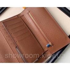 Женский вместительный кошелек Louis Vuitton (20005-2) brown