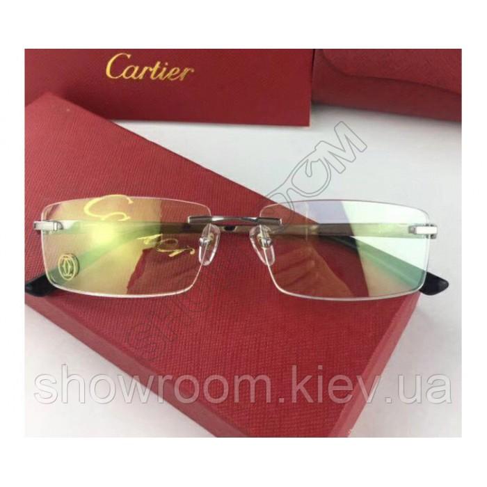 Мужская брендовая оправа Cartier 8201036