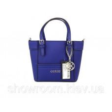 Женская брендовая сумка кроссбоди Guess (814) синяя
