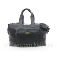 Мужская вместительная дорожная сумка David Jones (580) черная