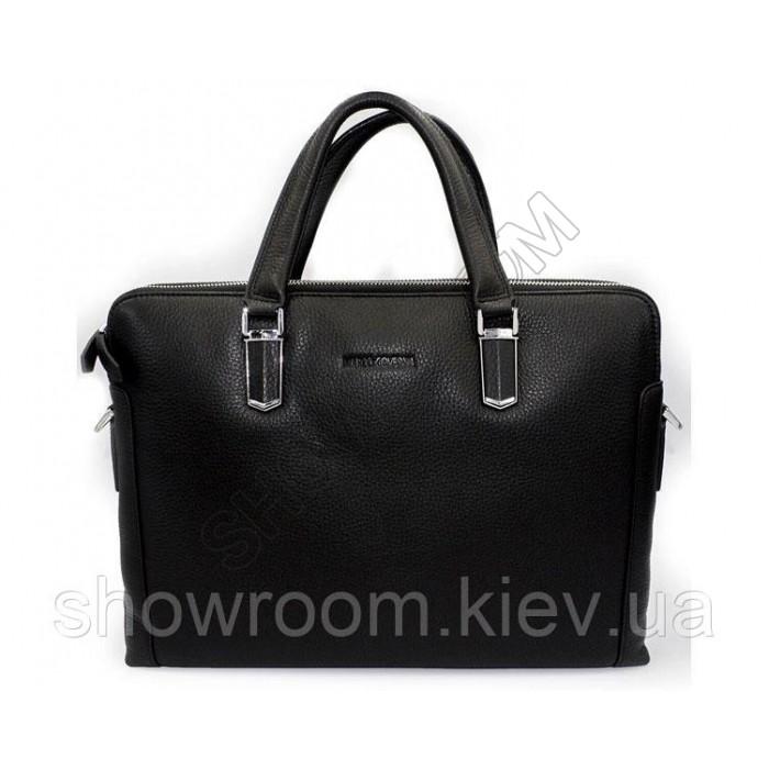 Мужская деловая кожаная сумка для ноутбука MC (695)