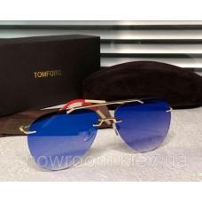 Жіночі дзеркальні окуляри авіатори Tom Brown (832)