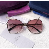 Женские брендовые солнцезащитные очки (6140) rose