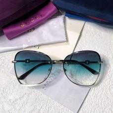 Жіночі брендові сонцезахисні окуляри (6140) acvamarin